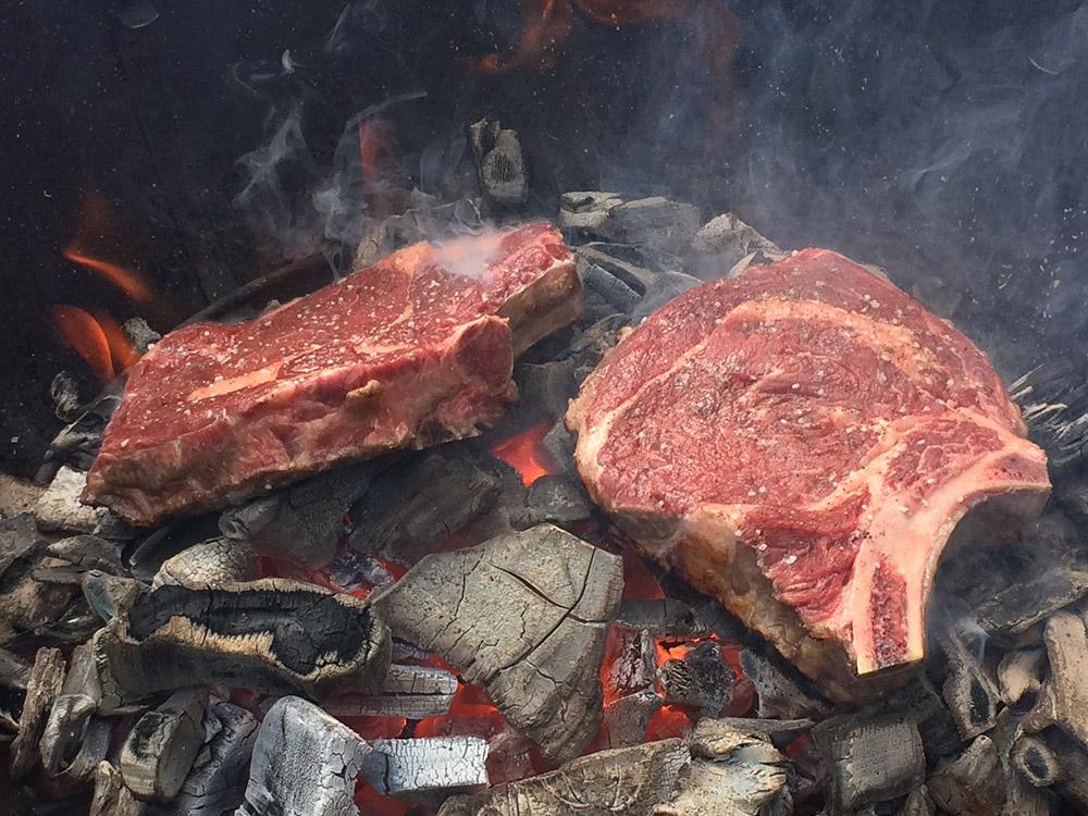 Kick Steaks Charbon De Bois Franc Basques